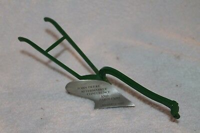 John Deere Aftermarket Conference  Expo 1989 Horse Drawn Plow  Collectors Item