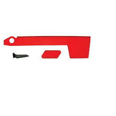 Solar Group Red, Aluminum Flag Kit & Mounting Hardware For Mailboxes RF000R06