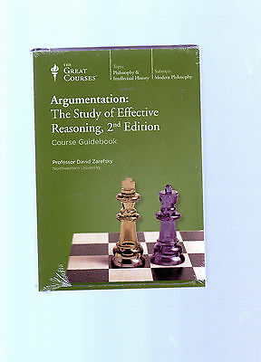 ARGUMENTATION Study of Effective Reasoning The GREAT COURSES DVDs 2nd Edition