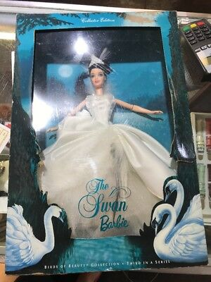 Mattel 2000 The Swan Barbie Birds of Beauty Collection 3rd in Series