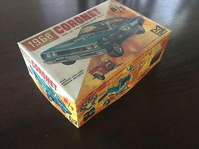 Wow! Estate Find- MPC 1968 Dodge Coronet Model Car Kit