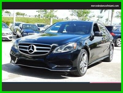 2015 Mercedes-Benz E-Class E 350 Sport 2015 E 350 Sport Used Certified 3.5L V6 24V Automatic Rear Wheel Drive Sedan