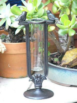 French Provincial/Country Cottage Cast Iron Free Standing Rain Gauge A
