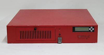CASTELLE FaxPress Premier Analogue 8L 850MHz 40GB Rack Mountable Fax Server
