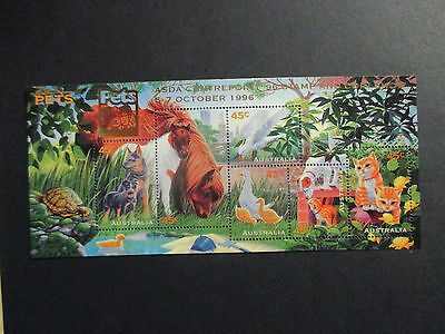 01--1996 Pets  Over Stamp  Asda  Center  Point -Mint -A1- Rare  Limited  Issue