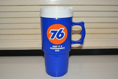 Vintage NOS Union 76 Gasoline Automug Travel Mug Keep It A Performance Car