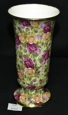 "ThriftCHI ~ Royal Albert Chintz Collection England Old Country Roses Vase 6"" T"