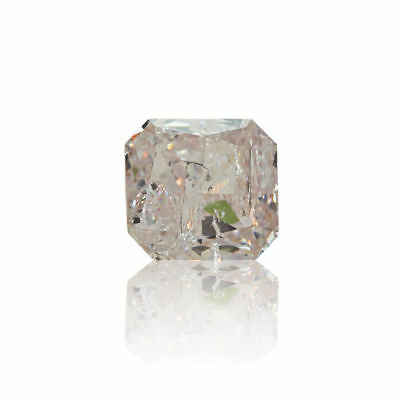 Pink Natural Diamond 0.32 Ct Fancy Color GIA Certified Square Cut Real