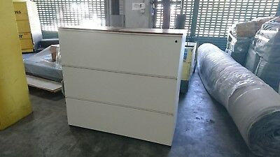 3 drawer double filing cabinet