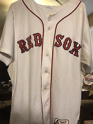 Game Used Ruby De La Rosa Jersey Boston Red Sox Fenway Team Store