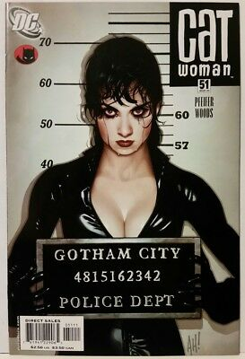 Catwoman #51 (Mar 2006, DC). Adam Hughes cover. High Grade! Combine shipping!