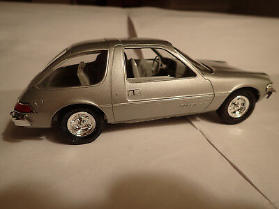 1975 AMC Pacer Promotional Model Silver Metallic (MPC AMT?) New in box.
