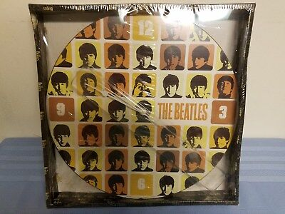 Vintage Beatles Wall Clock ~ NIP