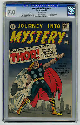 Journey into Mystery #89 CGC 7.0 ORIGINAL OWNER Marvel Comic Classic Cover Kirby