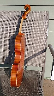 Nicely flamed 4/4  J. Balaton Violin