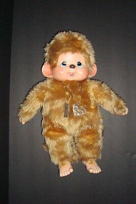 """18"""" Collectible Monchhichi 30th Anniversary Limited Edition"""