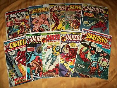 Daredevil # 111 - 120 Comics Complete VF NM Run Hi Grade Lot 113 114 115 116 117