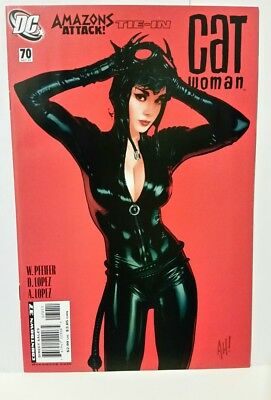 Catwoman #70 (Oct 2007, DC). Adam Hughes. NM-NM+. Combine shipping!