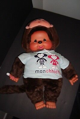 """22"""" Collectible Monchhichi with clothes and shoes"""