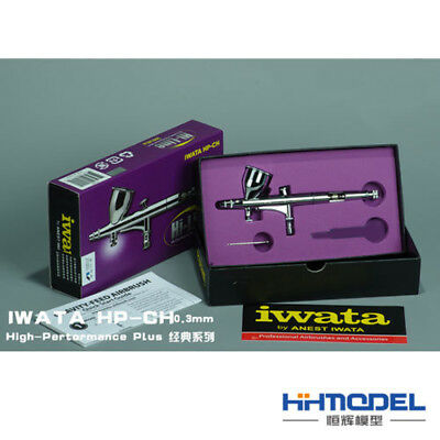 New Anest Iwata Airbrush Hi-Line Series HP-CH 0.3mm From Japan F/S