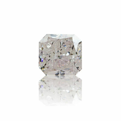 Pink Fancy Diamond Natural 0 .41 Ct Light Color GIA Certified Radiant Cut