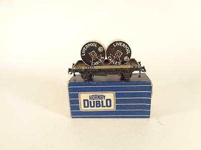 DUBLO 2-rail 32086 Grey Cable Wagon LIVERPOOL CABLES - EXCL BOXED