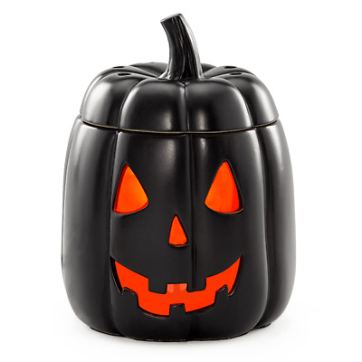 Scentsy Halloween Jack warmer for wax New in box