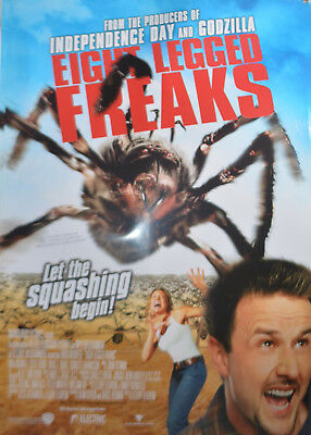 EIGHT LEGGED FREAKS  -  original Australian movie poster