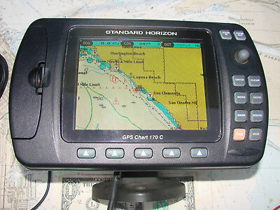 Standard Horizon CP170 COLOR CHARTPLOTTER wACCESS-MANUAL-12 Photos-SOPHISTICATED