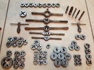 Lot of Tap & Die Sets LITTLE GIANT BUTTERFIELD RIMAC THREADWELL MORSE GTD ACE