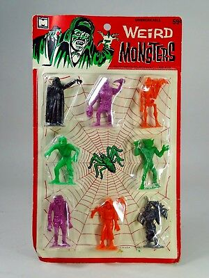 WEIRD MONSTERS on Original Card - 1964 MPC ~ Multiple Products Inc - MOC SEALED!