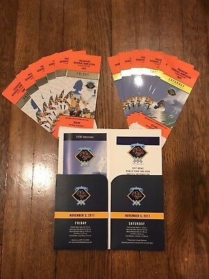 2017 Breeders Cup Del Mar Trackside General Admission Friday/Saturday 2 Day Pass