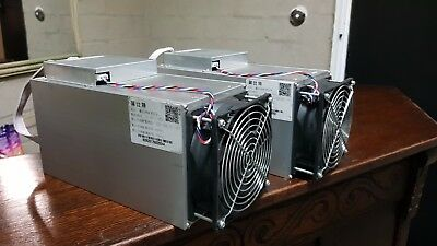 x2 Ebit E9 Miner 6.5T/h Miner 14nm ASIC (13TH/s +)SHA-256 equal to Antminer s9