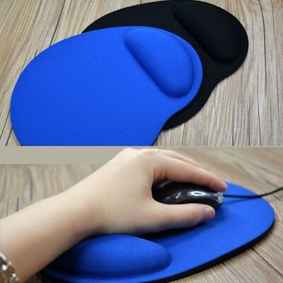 Wrist Comfort MousePad Mat Mice Pad for Optical Mouse ( 2 colors )