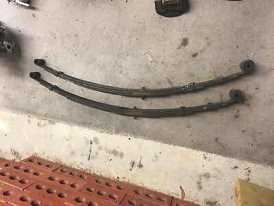 mazda rx3 coupe leaf springs
