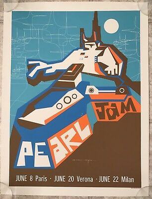 Pearl Jam Live Poster 2000