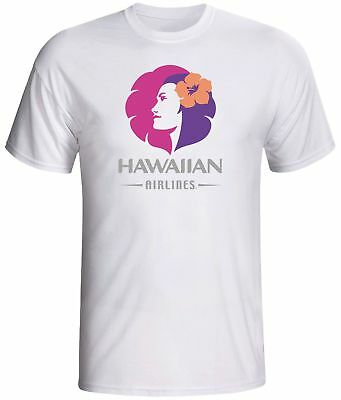 Hawaiian airlines shirt vintage logo Hawaii
