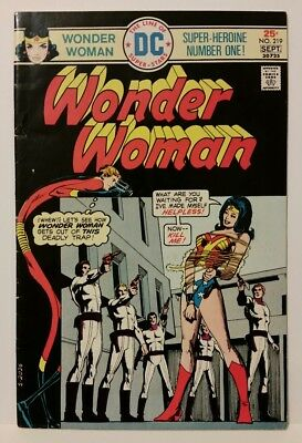 Wonder Woman #219 (Aug-Sep 1975, DC). Combine shipping!