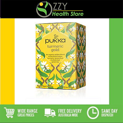 Pukka TUMERIC GOLD Tea 20 bags 1 box