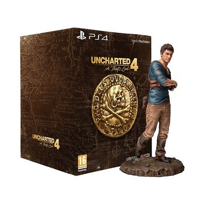 """NO GAME - Uncharted 4 Nathan Drake Figure Statue 12"""" Collectors EDITION - 1day"""
