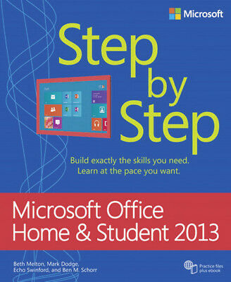 Microsoft Office Home and Student 2013 Step by Step, Melton, Beth