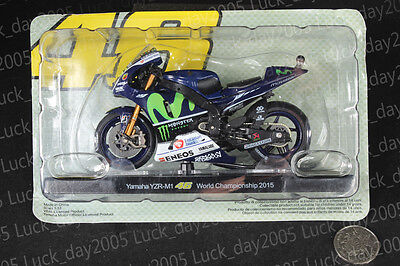Yamaha YZR-M1 #46 Rossi World Championship 2015 Motorcycle Model 1/18