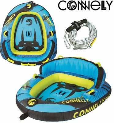 Connelly Viper 2 Towable Tube for 2 Person Package with Canvas