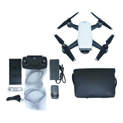 NEW DJI Spark Fly More Combo Camera Drone International Warranty ALPINE WHITE