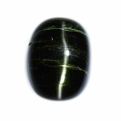 6.79 cts_LIMITED EDITION COLLECTOR GEM_100% NATURAL UNHEATED ENSTATITE CAT'S EYE
