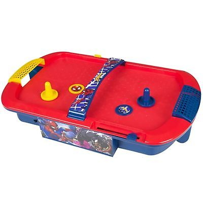 Marvel Comics Spiderman Electronic Air Hockey Table Top Childrens Kids Toy Game