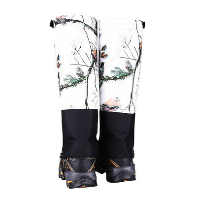 Outdoor Snow Legging Gaiter Cover for Hiking Walking Climbing Hunting Size M