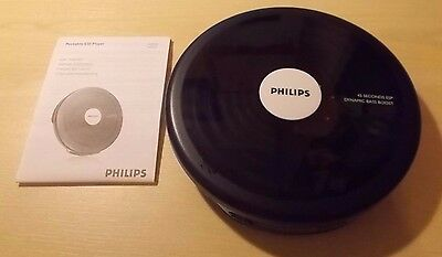 Philips AX2500 CD Walkman Music Compact Disc Personal Stereo Player Discman CDR