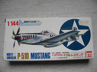 AHM 703 North American P-51D Mustang US Army Fighter 1:144 Kombiversand