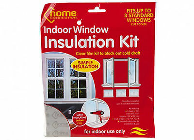 Diy Window Insulation Kit With Plastic Film And Tape/prevent Draughts/cold/frost